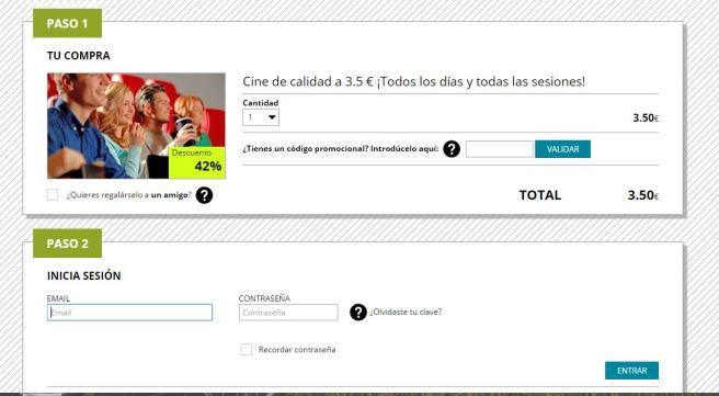 pantalla_compra_descuento_multicinesnorte_vigo